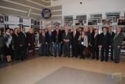 Rifat Hisarcıklıoğlu Ukrayna'daki Türk İşadamları ile Birlikte Ticaret Odası'nda