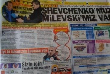 """Dinamo Kiev'in Hocası Türk Gazeteciye Konuştu, """"Onların Quaresma'sı varsa bizim de Şevçenko'muz var"""""""