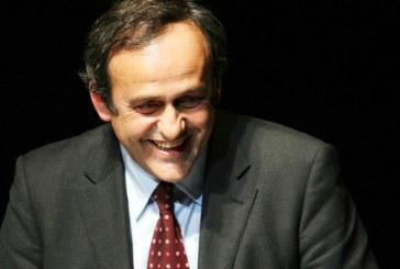 """UEFA Başkanı Platini: """"Ukrayna kupalardan men edilmeyecek"""""""