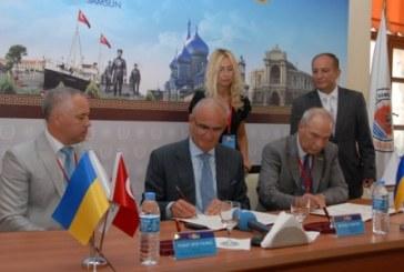 Odesa Vali Vekili Samsun'da temaslarda bulundu, taraflar arasında işbirliği protokolü imzalandı