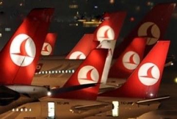 Лідер з-поміж іноземних перевізників авіакомпанія «Turkish Airlines»