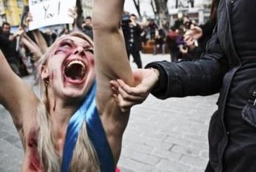 Türkiye'deki fotoğraf yarışmasında FEMEN fotoğrafına ödül geldi