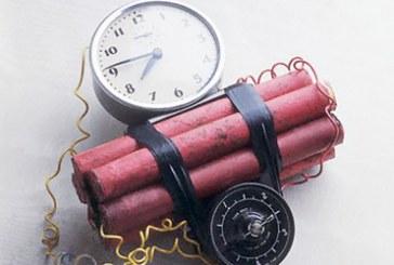 Poznyaki'de panik, büfenin altında saatli bomba bulundu