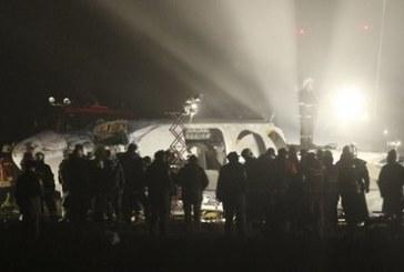Donetsk'te yolcu uçağı acil iniş yaptı, 5 ölü