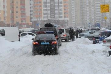 Kiev'deki durumu en iyi bu fotoğraf anlatıyor, başbakan nehrin karşı kıyısına geçemedi