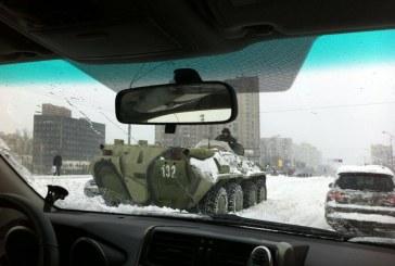 Toplu ulaşım felç oldu, Kiev'de olağanüstü hal ilan edildi