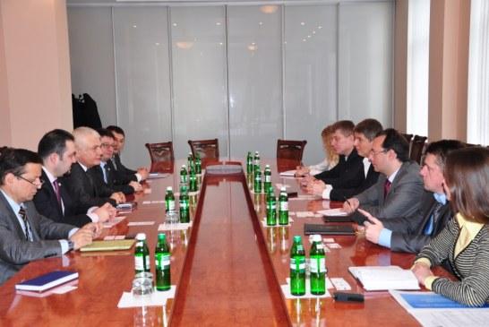 TUSİB üyesi işadamları Ukrayna İşverenler Federasyonu'nu ziyaret etti