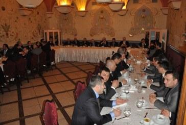 Türk iş dünyası Meclis Başkanı Cemil Çiçek ile öğle yemeğinde buluştu