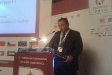 Ukrayna'nın Ankara Büyükelçisi Korsunskiy Petrol ve Gaz Konferansı'na katıldı