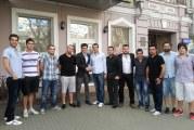Ukrayna'daki Türk öğrenciler el ele, UTOB, Odesa Türk Öğrenci Derneği'ni ziyaret etti