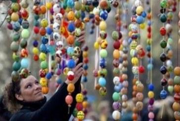 Ukrayna'da Paskalya coşkusu… (Galeri)
