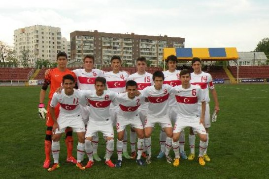 Haydi çocuklar… Milli takım Ukrayna'da finale kaldı