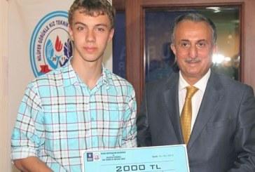 Ukraynalı Vladyslav Verezhan Türkiye'deki yarışmada birinci oldu
