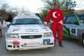 Nikolaev'de beklenen olmadı, Türk ralli takımı dereceyi kıl payı kaçırdı
