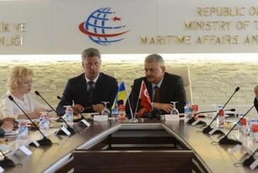 Bakan Yıldırım, Ukrayna Başbakan Yardımcısı Boyko ile görüştü