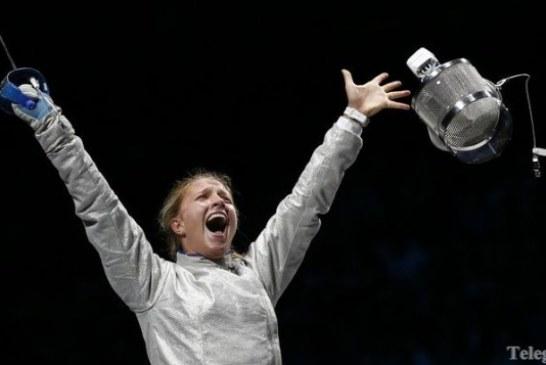 Ukraynalı sporcu ayakta alkışlandı, Olga Harlan'dan ülkesine altın madalya