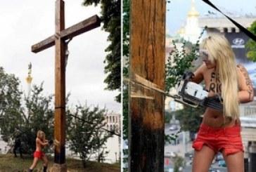 Haç kesen Femen üyesine Fransa'dan siyasi sığınma