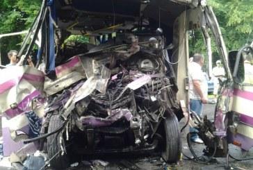 Volin'de trafik kazası, ikisi çocuk sekiz kişi yaşamını yitirdi