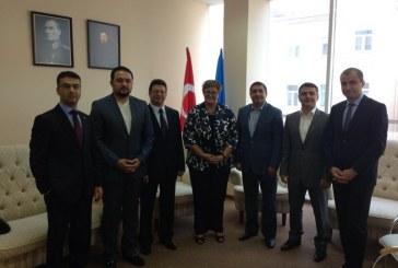 Yeni Odesa Başkonsolosu TUSİB'i ziyaret etti