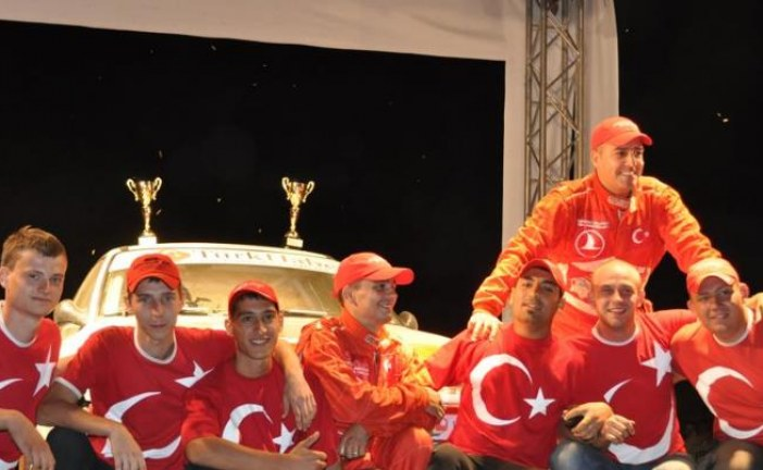 Ukrayna'daki Türk ralliciye Kanal 5'ten özel program