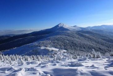 Mevsimin ilk karı düştü, Goverla yarım metre kar ile kaplandı