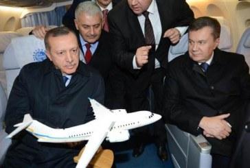 """Antonov görücüye çıktı, """"iki ilişkilerimizde geleceği büyük olan bir konu"""" (Fotoğraflar)"""