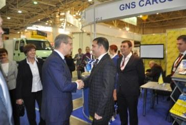 Taşımacılık fuarı Kiev'de gerçekleşti, Başbakan Yardımcısı'ndan Günsel'e özel ilgi