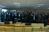 Öğrenciler Atatürk'ü Kiev'de andı