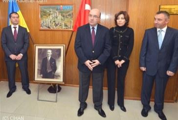 Atatürk, Kiev Büyükelçiliği'nde düzenlenen törenle anıldı