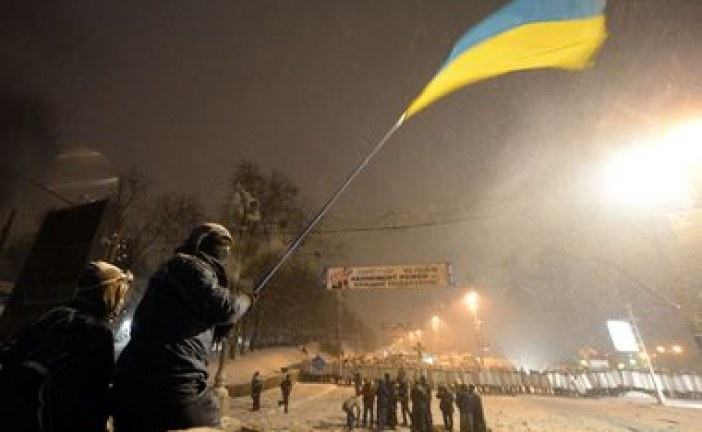 Kiev'de televizyon stüdyosu işgal edildi