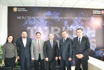 Ukrayna Sanayiciler ve İşadamları Birliği'nden THY'ye ziyaret