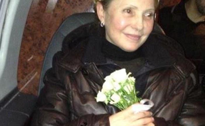 Timoşenko Kiev'e geliyor