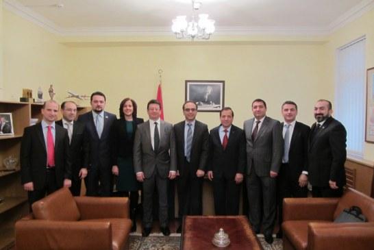 Посол Туреччини в Україні Йонет Джан Тезель зустрівся із керівництвом TUSiB