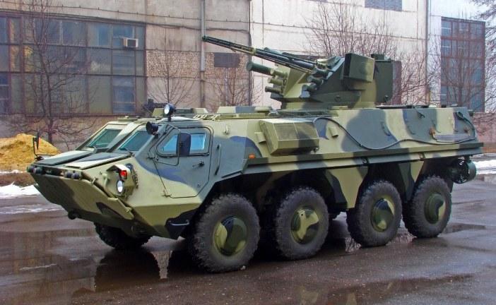Ukroboronprom'dan Ukrayna ordusuna son model BTR 4'ler