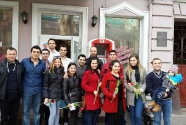Odesa'daki Türk öğrenci derneğinden 8 Mart kutlaması