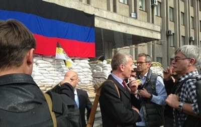 AGİT heyeti Slavyansk'ta temaslara başladı
