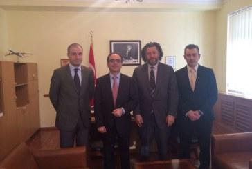 UTİAD'dan Kiev Büyükelçisi Tezel'e tanışma ziyareti
