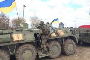 ukrayna ordusu savas konumunda
