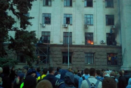 Odesa'da korkulan oldu.. En az 38 kişi yaşamını yitirdi