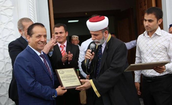 Aluşta'daki Körbek Camisi törenle açıldı