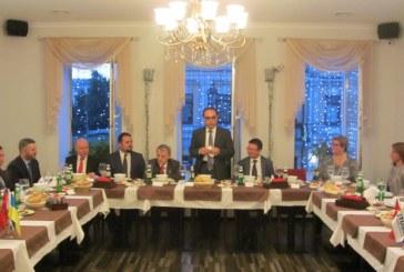 TUSİB iftarı Kiev'de gerçekleşti