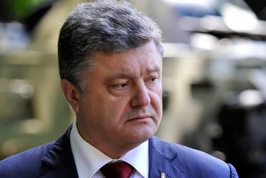 Devlet Başkanı Poroşenko: 'Türk halkının yanındayız'