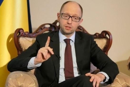 """Başbakan Yatsenyuk: """"Ateşkes bozulursa savaş hali ilan edilmesinden başka çare kalmaz"""""""