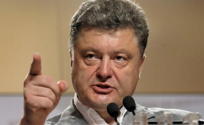 Poroşenko: 'savaş ancak Donbass ve Kırım geri alındığında biter'
