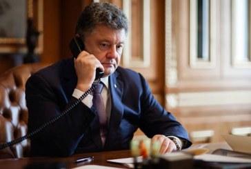 Президент України Петро Порошенко провів телефонну розмову з Президентом Туреччини Реджепом Таїпом Ердоганом.
