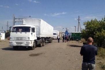 Rus yardım konvoyu Ukrayna'ya girdi, istikamet Lugansk