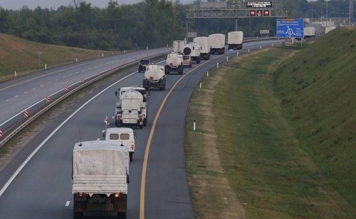 "İnsani yardım mı ""Truva Atı"" mı? Rus konvoyu Ukrayna sınırında"