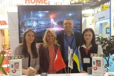 Kiev'de düzenlenen turizm fuarının gözdesi yine THY oldu (fotoğraflar)