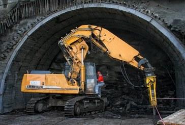 """Ukrayna'nın """"Bolu Tüneli"""" Beskidskiy Tüneli'nde sona gelindi"""