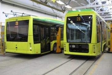 Ukrayna üretimi troleybüsler Berlin'de görücüye çıktı